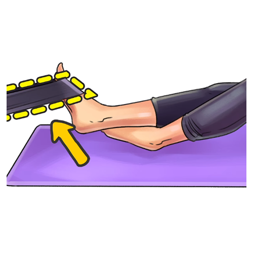 cvik na opuchnuté nohy